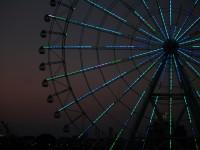 夜を彩る大車輪